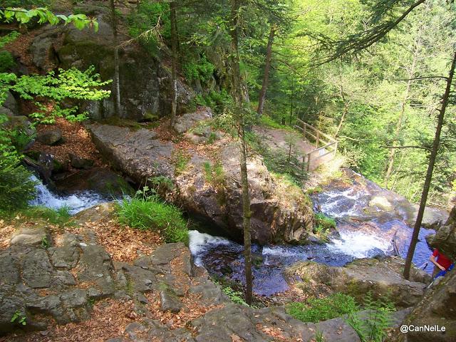 Près des Cascades du Tendon