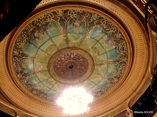 Plafond théâtre de Chartres