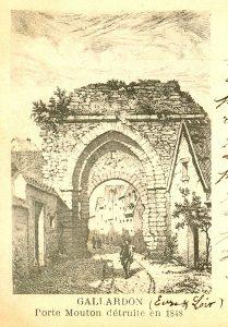 CPA - Porte Mouton - Gallardon