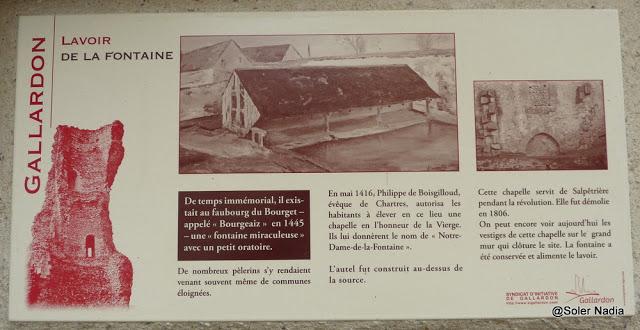 Lavoir de Notre-Dame de la Fontaine à Gallardon
