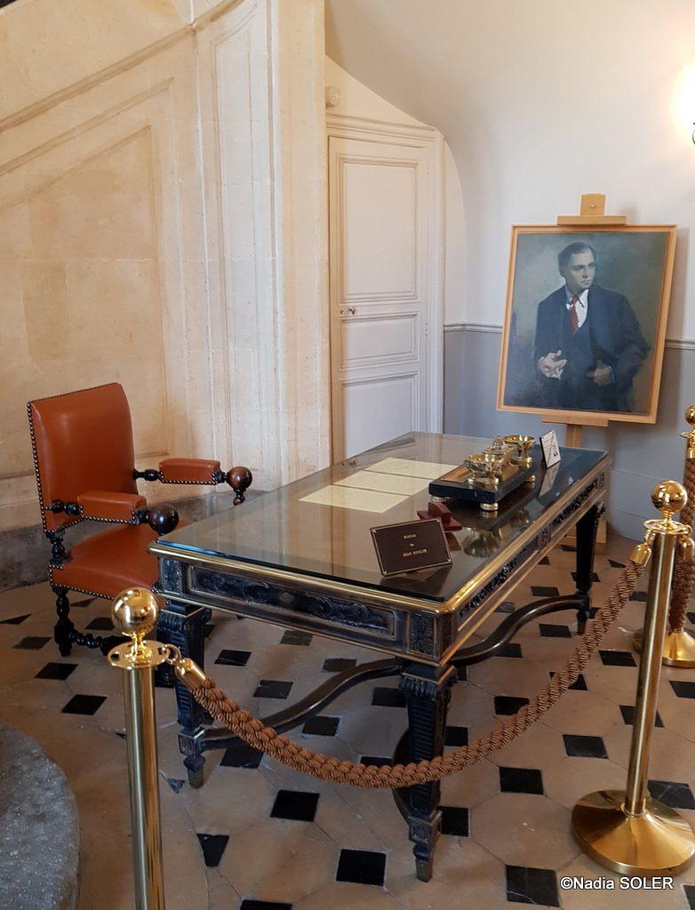 le bureau de Jean Moulin conservé dans l'ancienne préfecture