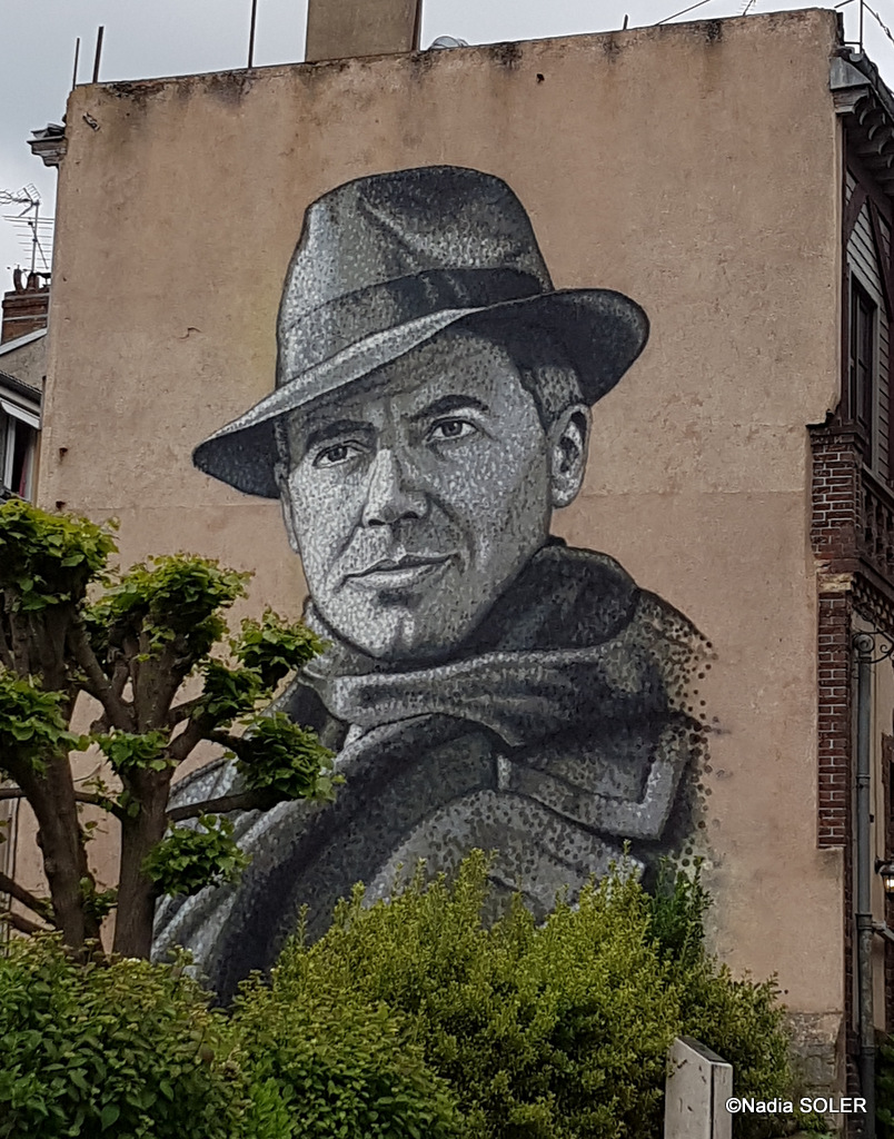Fresque de Jean Moulin by JimmyC aka James Cochran