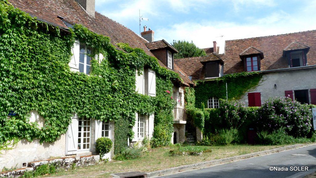 Saint-Dye-sur-Loire - l'Auberge de l'Etoile, rue Porte-Oiseau