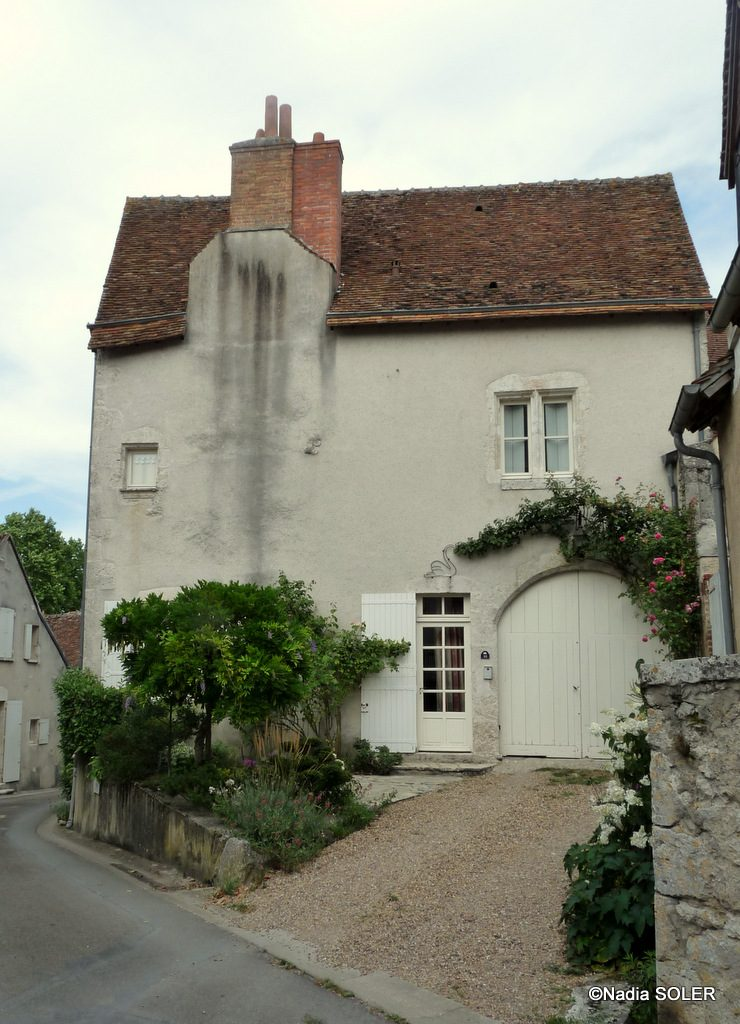 Saint-Dye-sur-Loire - L'Auberge du Cygne - rue Porte Oiseau