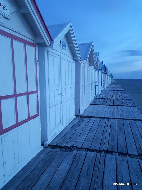 Les Cabines de plage du Chemin des Planches - Cayeux-sur-Mer