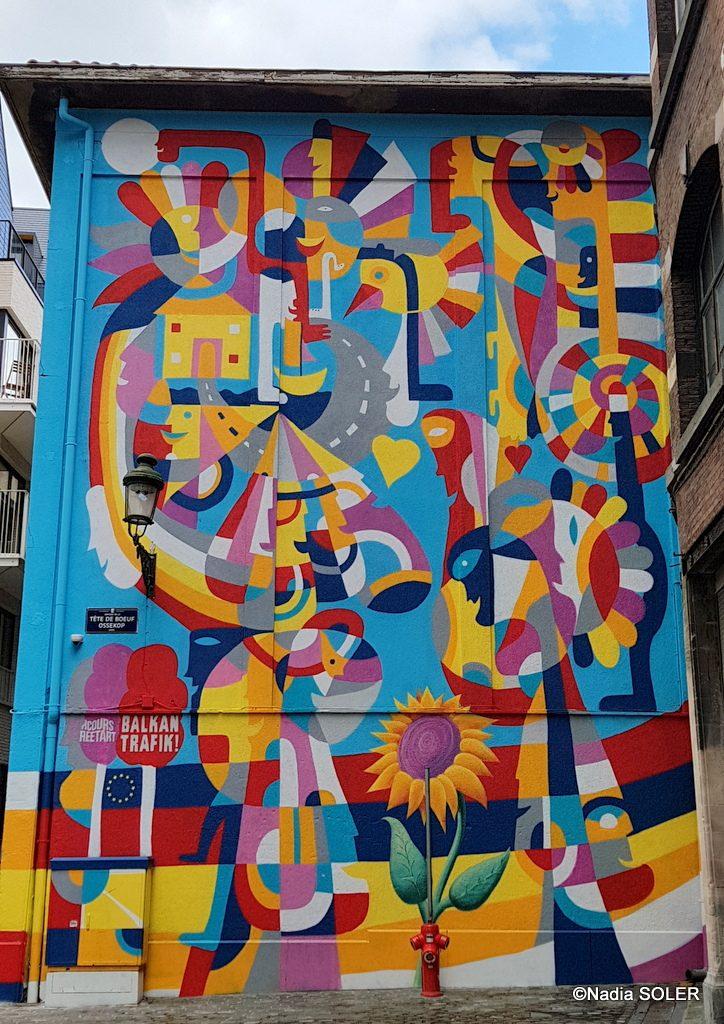 Bruxelles - Street Art -