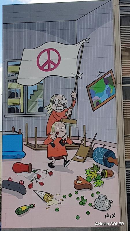 Bruxelles - Parcours BD
