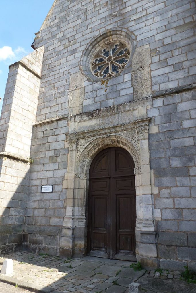 Portail Eglise Saint-Nicolas Maintenon